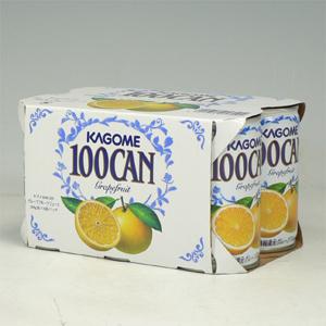 カゴメ 100%グレープフルーツ 160g缶×6P  [864589]