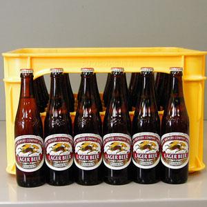 キリン ラガービール 小瓶 334ml×30本P函入  [872005]