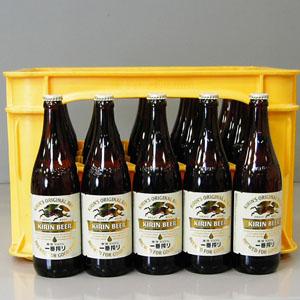 キリンビール一番搾り 中瓶 500ml×20本P函入  [872008]