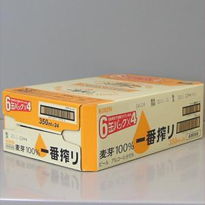 キリン 一番搾り 350ml缶×24  [872009]