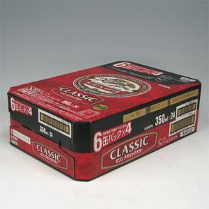 キリン クラシックラガー R缶 350ml×24  [872096]