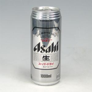 アサヒ スーパーDRY(生)缶 1L×12  [872153]