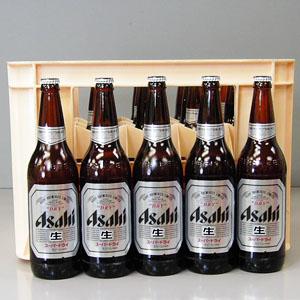 アサヒ スーパーDRY 大瓶 633ml×20本P函入  [872155]