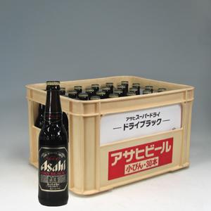 アサヒ スーパーDRY ブラック 小瓶 334ml×24  [872167]
