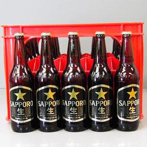 サッポロ 黒ラベル 大瓶 633ml×20本P函入  [872255]