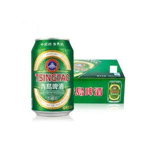 青島碑酒チンタオビール缶 330ml×24  [872451]