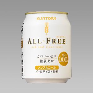 サントリー オールフリー 缶 250ml×24  [874357]
