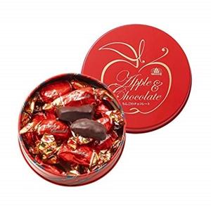 モロゾフ リンゴのチョコレート 130g ミニ缶入り  [8908]