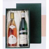 ワイン2本入り進物箱(布張り)  [925003]