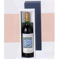 ワイン1本入り進物箱(布なし短もの)  [925004]